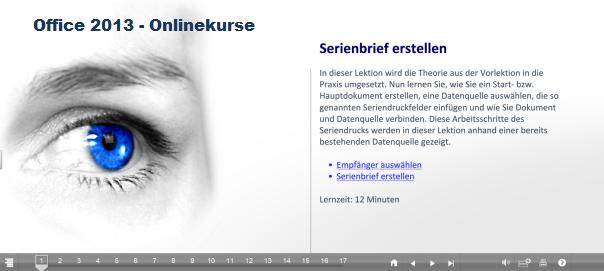 Test Office 2013 Onlinekurse von bitmedia