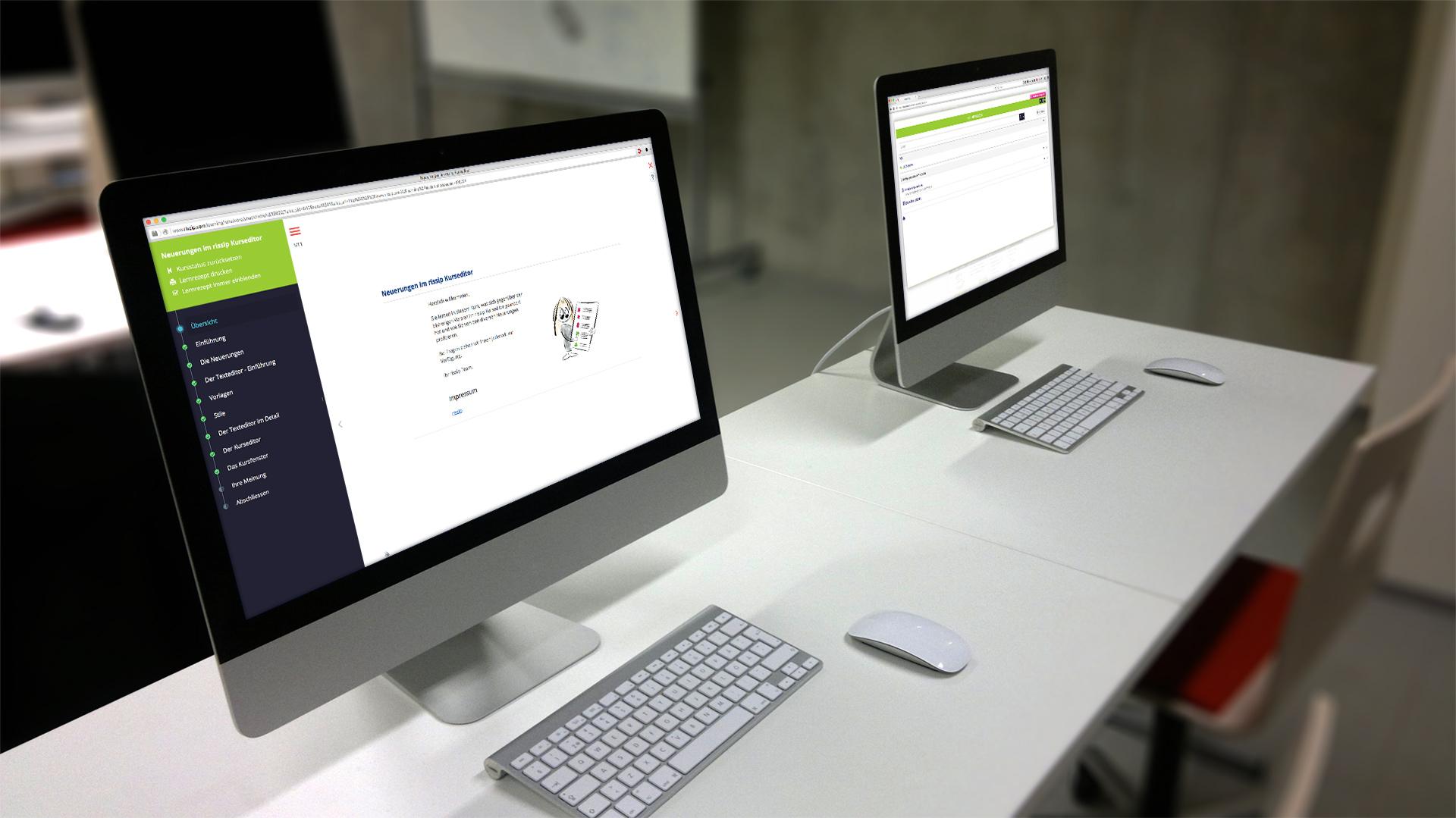 E-Learning - Entwicklung von Onlinekursen