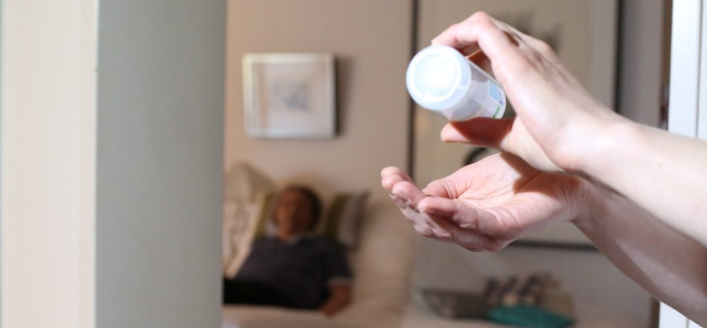 Händehygiene ist ein wichtiger Aspektekt im Qualitätsmanagement zum Thema Hygiene in der Pflege der Spitex Luzern