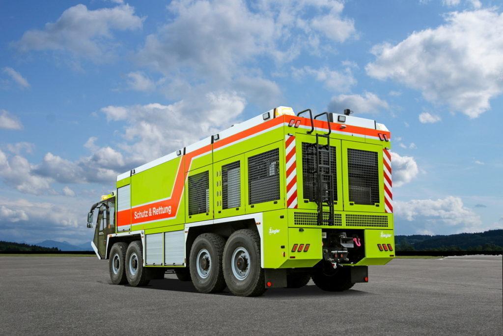 Brandschutz - Löschfahrzeug Schutz & Rettung Z8